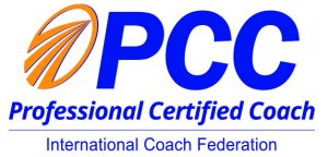 PCC ICF logo Professional Certified Coach International coach federation